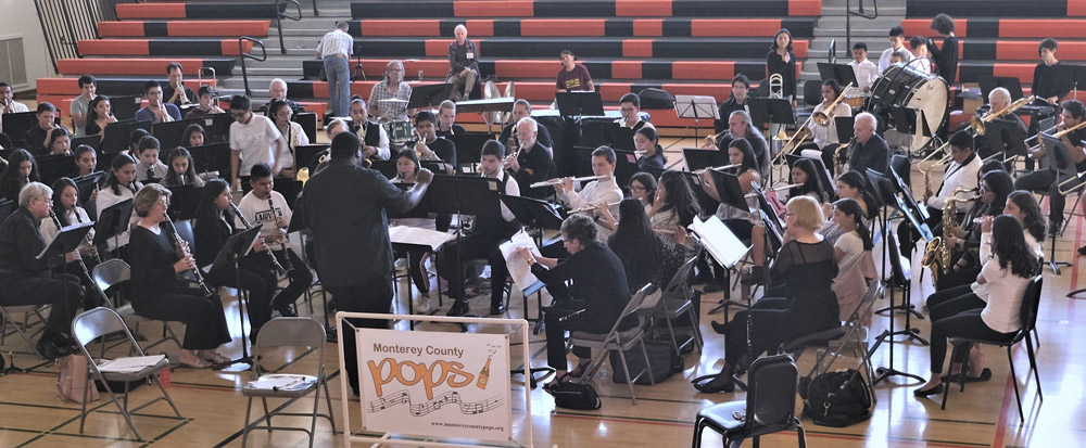 Monterey County Pops! and Greenfield High Band